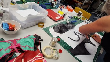 Foto's & video's latex workshops