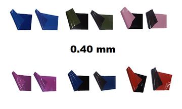 Latex dikte 0.40 | dubbel gekleurd