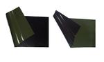latex dubbelzijdig zwart groen