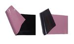 dubbelzijdig latex zwart lila