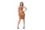 Pearlsheen brons latex dun en dik stevig glimmend latex om zelf latex kleding te maken en te repareren per meter winkel rotterd