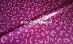 Latex leopard luipaard tijger printje patroon patterned sheet latex pink 01