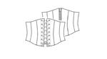 patroon latex korset corset met online video workshop 01