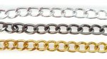 Aluminium-kettingen-zwart-zilver-goud-4mm-6mm-8mm-smal-breed-klein-groot 01