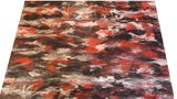 Exclusief latex - Marmer rood zwart wit_
