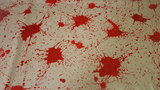 Blood splatter spatter latex sheet