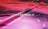 Exclusief latex - Galaxy Ombré Pink Red 04