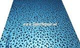 Leopard latex metallic blauw blue 02