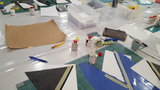 Workshop latex kleding bh corset maken Linschoten Nieuw Weerdinge LatexRepair 07