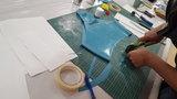 Workshop latex kleding bh corset maken Linschoten Nieuw Weerdinge LatexRepair 11