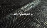 Latex sheet stof slangenhuid snakesking slangenhaud hood