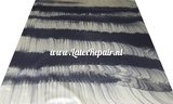 Latex sheet -  Stripes metallic goud/zwart 1214