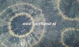 Latex sheet - Tye dye - blue white large 1219