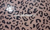 Latex sheet - Leopard Baby pink 1265