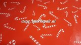 Latex sheet - Candy canes 1311