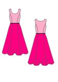 Leuk en makkelijk patroon voor een jaren 50 latex jurk rock en roll grease 6