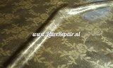 Latex sheet vintage lace look