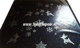 Latex sheet stof kerst xmas christmas wheinachten meterware sheeting 03