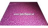 Latex leopard luipaard tijger printje patroon patterned sheet latex pink 03