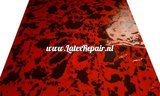 Latex sheet to make your own latex clothing with splashes, carnival, halloween, cosplay, kinky lingerie dress