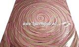 latex met whirlpool draaikolk stof effect