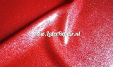 Glitter latex effect sheet rood red