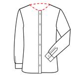 Patroon voor om zelf een latex overhemd shirt blouse te maken 04