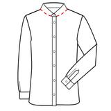 Patroon voor om zelf een latex overhemd shirt blouse te maken 03