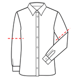 Patroon voor om zelf een latex overhemd shirt blouse te maken 02