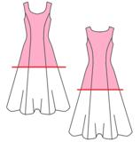 Leuk en makkelijk patroon voor een jaren 50 latex jurk rock en roll grease 4
