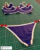 dazzled designs latex amsterdam latexrepair cursus workshop zelf latex kleding maken bh lingerie