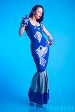 odd territory latex laser cut jurk