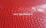Latex sheet 3d struktuur slang snake rood 01