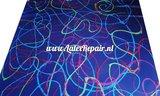 dubbelzijdig latex blauw kleuren 001