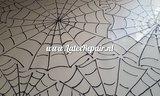 Latex spinnenweb cobweb halloween cosplay