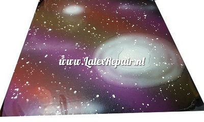 Exclusief latex - Galaxy big planets