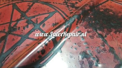 Exclusief latex - Evil with pentagram