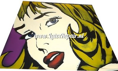 Exclusief latex - Pop Art 01