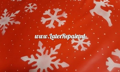 Exclusive latex - Xmas rendeers+snow and ice