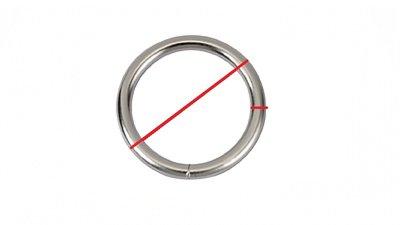 O-ringen, gelast, zware kwaliteit, groot!