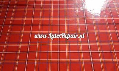Exclusief latex - Schotse ruit / tartan latex