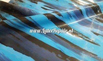 Exclusief latex - Blauwe strepen mix 1282