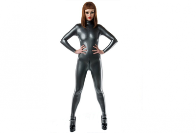 Latex thickness 0.40 | Metallic pewter