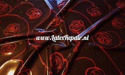 Exklusives Latex - Blumen große Rosen