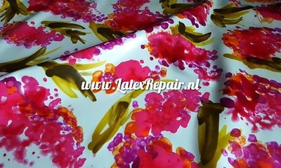 Exclusive latex - Flower butterfly plant