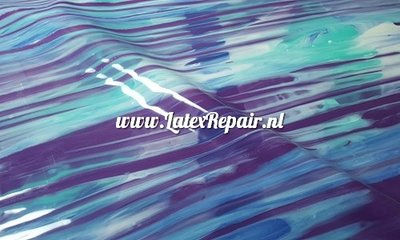 Exclusief latex - Patroon strepen mix