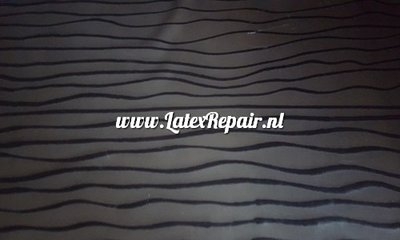 Exclusief latex - Patroon Waves
