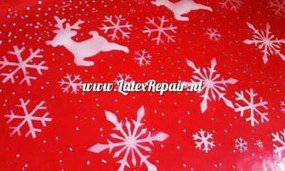 Exclusief latex - Patroon Kerst 1