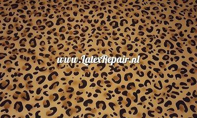 Exclusief latex - Patroon Leopard dubbele vlekken 01
