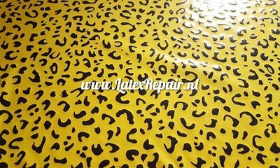 Exklusive Latex - Muster Leopard 08